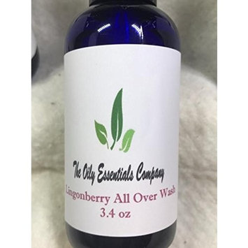 Homemade Natural and Organic Lingonberry All Over Body Wash 3.4oz