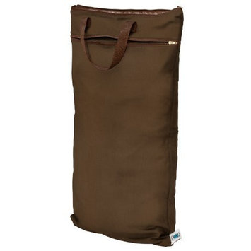 Planet Wise Hanging Diaper Wet/Dry Bag - Chocolate
