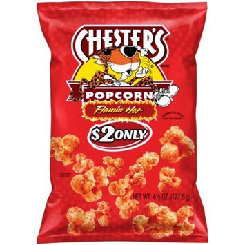 Chester's Flamin' Hot Popcorn 4.5 oz, pack of 1