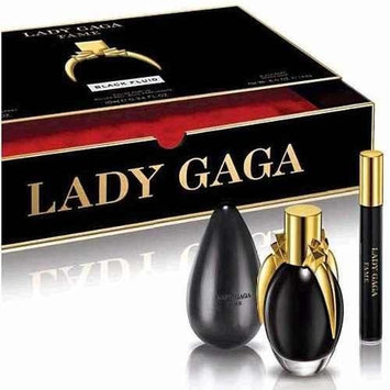 Lady Gaga Fame Black Fluid Perfume Eau De Parfum 1.7 OZ spray gift set