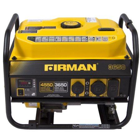 Firman Power Equipment Performance Series Gas Powered 4550 Watt CARB Portable Gasoline Generator