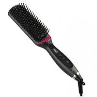 Revlon One-Step Straight & Shine XL Heated Straightening Brush, Black