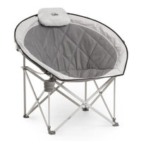 Core Equipment Oversized Padded Round Chair Grey - Core Equipment Outdoor Accessories
