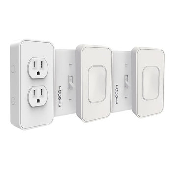 Switchmate Lighting Power Pack Starter Kit Toggle, White