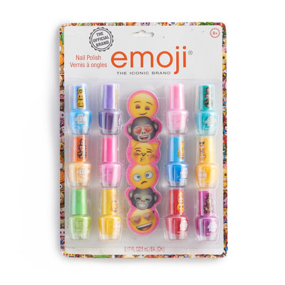 Girls 4-16 Emoji 12-pk. Nail Polish Set, Multicolor