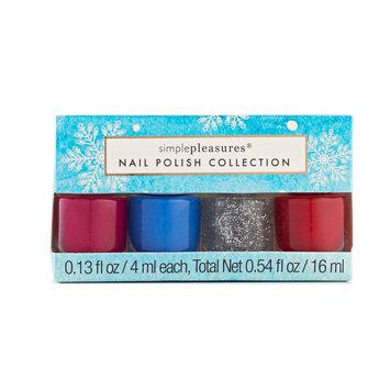 Simple Pleasures 4-pc. Mini Nail Polish Set, Multi