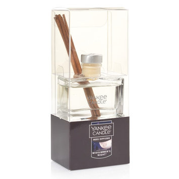 Yankee Candle Midsummer's Night Mini Reed Diffuser 12-piece Set, Black