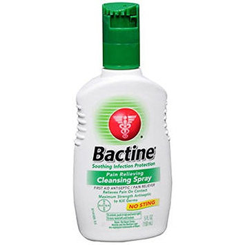 Bactine Pain Relieving Cleansing Spray, 5 Ounce