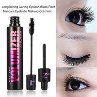 Lengthening Curling Eyelash Black Fiber Mascara Eyelashes Makeup Cosmetic