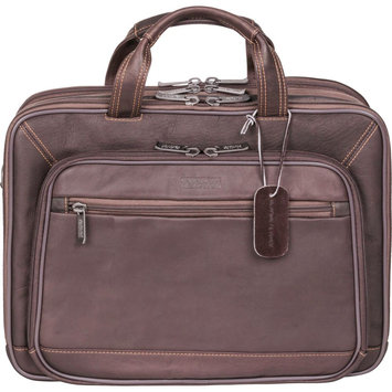 Kenneth Cole Reaction A Golden OpPortUnity Laptop Briefcase