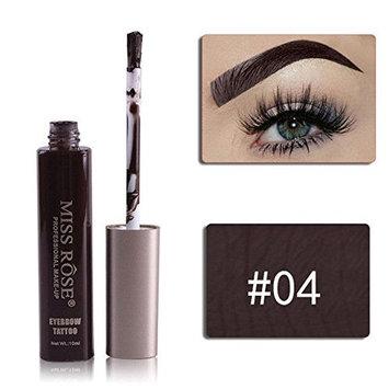 Luxforia eyebrow tattoo gel (04) Medium brown