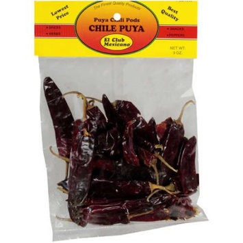El Club Mexicano: Puya Chili Pods, 3 Oz