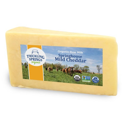 Trickling Springs Creamery Springhouse Mild Cheddar, 8 Oz
