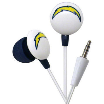 Ihip Nff10200sdc San Diego Chargers Earbuds Nfl Team Logo