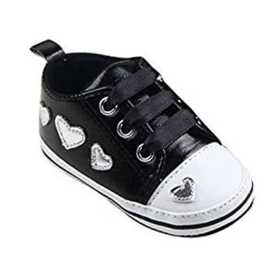 For 0-18 Mnoths Girls Boys,Clode® Cute Infant Girl Soft Sole Crib Shoes Lace Up Non slip Sneaker
