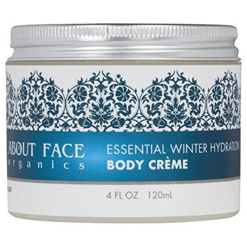 Essential Winter Hydration Coconut Oil Creme with Aloe Vera   Completely Natural, No Chemicals!   86% Certified Organic   Paraben and Cruelty Free, 4 Ounces