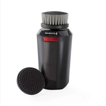 Remington Reveal Men's Compact Facial Cleansing Brush with Pre Shave and Charcoal Heads, Black, FC1500B