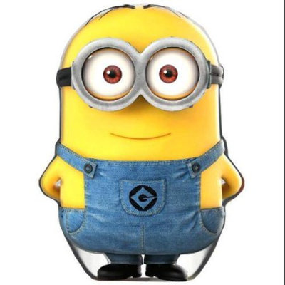 License2play Minions Dave-Shaped Candy Tin