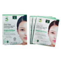 Earth Therapeutics Aloe Vera & Cucumber Moisturizing Gel Face Mask, Multicolor