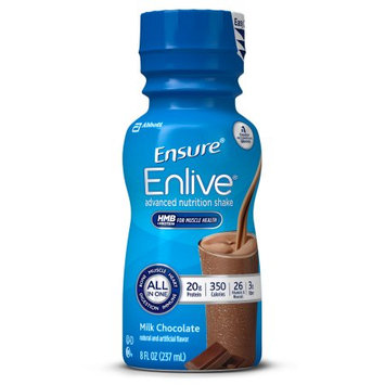 Ensure Enlive Nutrition Shake, Chocolate, 16 count, 8 fl. oz
