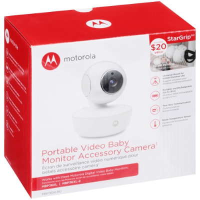 Motorola Portable Video Baby Monitor Accessory Camera - MBP36XLBU