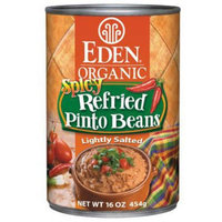 Eden Organic Eden Spicy Refried Pinto Beans, Organic, 16 Ounce (Pack of 6)