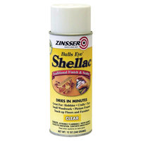 Rust-Oleum 00408 Bulls Eye Shellac, Clear (6 Pack)
