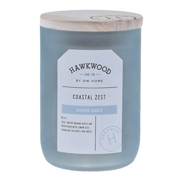 Hawkwood Coastal Zest 13.48-oz. Candle Jar, Blue