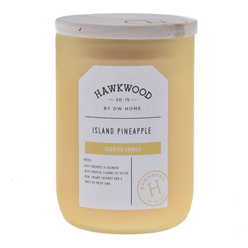 Hawkwood Island Pineapple 13.48-oz. Candle Jar, Yellow