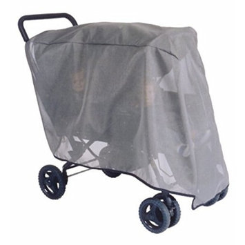 Sashas Sun, Wind & Insect Protector Wrap Around Tandem Stroller