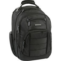 Perry Ellis M200 Business Laptop Backpack Black - Perry Ellis Laptop Backpacks