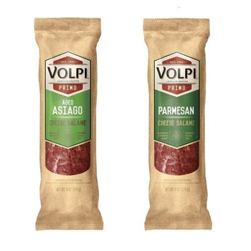 Volpi Parmesan and Asiago Duo Cheese Salame, 12 Ounce
