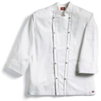 Dickie's Dickies Chef 70102 Egyptian Cotton Grand Master Chef Coat Knot Buttons