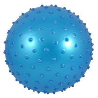 Inflatable Red Spiky Body Exercise Stress Relief Massage Ball
