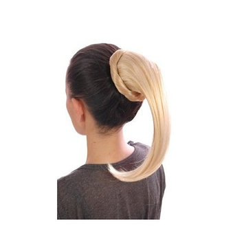 Candy Golden Blonde Wrap Around Effect Drawstring Ponytail | Attachable Ponytail Hairpiece | Available in Six Shades