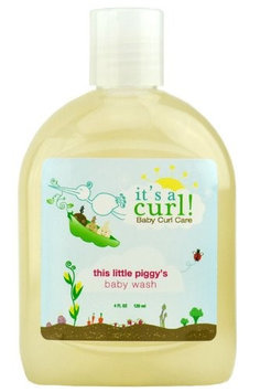 It's a Curl Baby Curl Care - This Little Piggy's Baby Wash by Curls - 4 oz