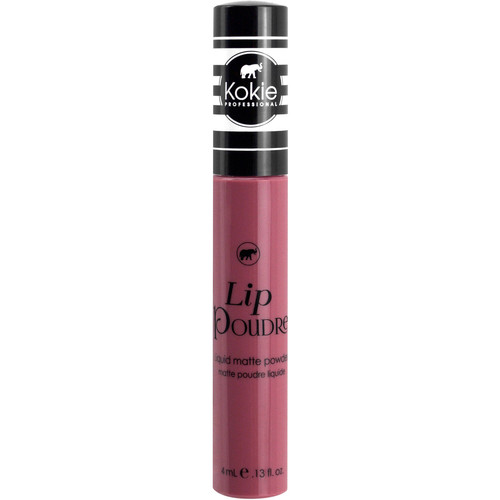 Kokie Professional Lip Poudre Liquid Matte Liquid Lipstick, Rosewood