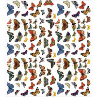 Nmg DECP210 Craft Consortium Decoupage Papers - 13.75 x 15.75 in. Flutter Of Butterflies