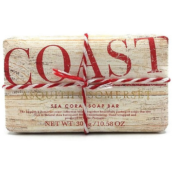 Asquith & Somerset Coast Luxury Imported Sea Coral Scented Soap 300g