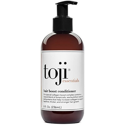Toji: Essentials Hair Boost Conditioner w/Special Collagen Boost Complex   Naturally Supports Hair Growth & Anti Hair Loss Prevention For Men and Women