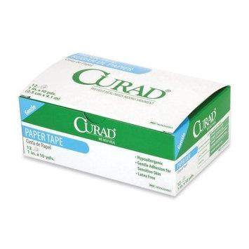 Curad Hypoallergenic Paper Tape. Curad(NON260002). Sold as 1 Box. 6/Box