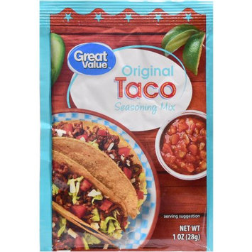 Great Value Origininal Taco Seasoning Mix