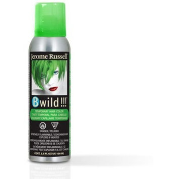 Jerome Russell B Wild (Jaguar Green) Temporary Hair Color Spray 3.5oz by Jerome Russell