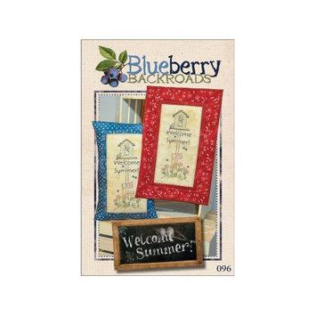Blueberry Backroads Welcome Summer Ptrn