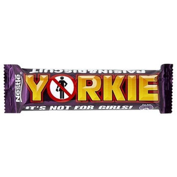 Nestle Yorkie Raisin & Biscuit Chocolate Bar (61g / 2.1oz)