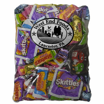 Easter Candy Chocolate (48oz Pack) M&M's, Snickers, Twix, Skittles, Starburst, Gum, 3 Musketeers for Kids Baskets
