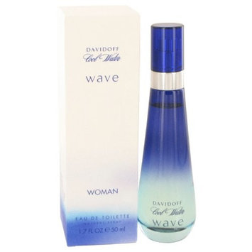 Davidõff Cõol Wåter Wåve Perfüme For Women 1.7 oz Eau De Toilette Spray + a FREE Body Lotion For Women