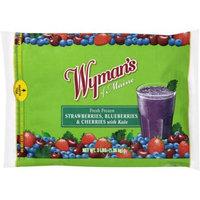 Wyman's of Maine Fresh Frozen Strawberries, Blueberries & Cherries with Kale, 3 lb