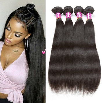 Cosy Brazilian Human Virgin Hair Straight 4x4 Lace Closure Soft Remy Human Hair Weaves Closure Natural Black 8 inch Free Part 1 piece