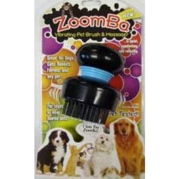 Zoomba Vibrating Pet Brush and Massager
